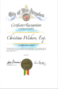 Christina M. Wickers