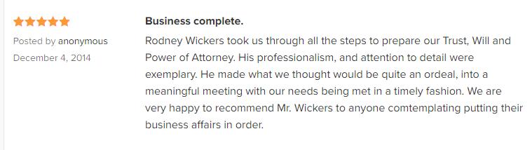 Rodney W. Wickers