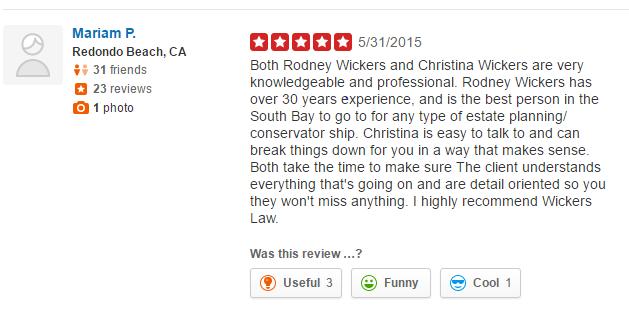Rodney W. Wickers and Christina M. Wickers